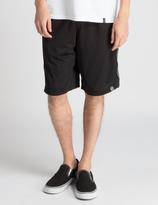 HUF Black Targyle Mesh Shorts