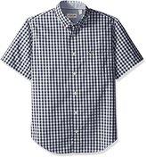 Lacoste Men's Seg 1 Short Sleeve Gingham Poplin Bd