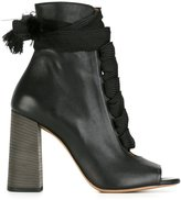 Chloé Harper ankle booties - women - Calf Leather/Leather - 36