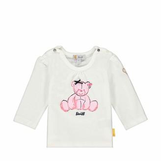 Steiff Baby_Girl's mit Schleife und Teddybarmotiv Sweatshirt