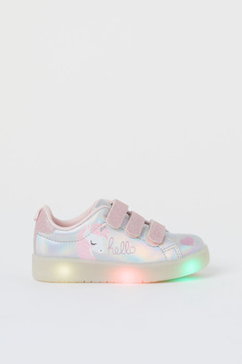 H&M Flashing trainers