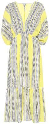 Lemlem Amira cotton-blend midi dress