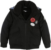 Little Marc Jacobs Badge Sherpa Lined Down Jacket