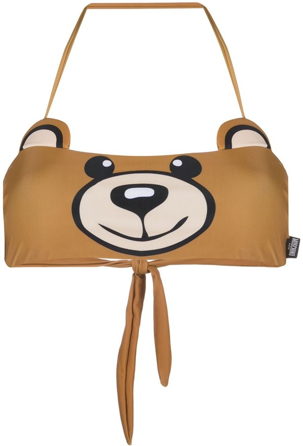 Moschino Teddy Bear bikini top