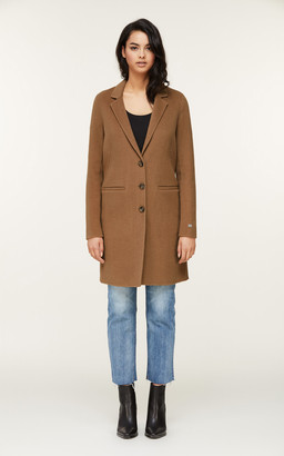 Soia & Kyo EZME straight-fit double-face wool coat