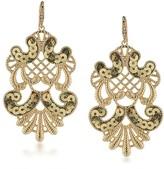 ABS by Allen Schwartz Sequin Statement Earrings