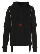 Hood by Air logo hoodie