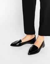 Aldo Bazovica Point Leather Flat Shoes