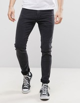 Lee Malone Super Skinny Jeans Tailor Black Wash