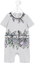 Stella McCartney explorer print body - kids - Cotton - 3 mth