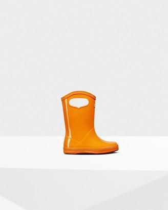 Hunter Original Kids First Classic Grab Handle Gloss Rain Boots