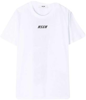 MSGM White T-shirt