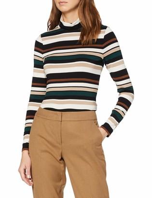 Esprit Women's 109eo1k015 Long Sleeve Top