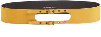 Dries Van Noten Double Buckle Belt