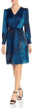 Elie Tahari Silk Leopard Patchwork Print Dress - 100% Exclusive
