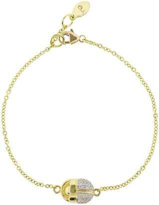 Pamela Love Pave Diamond Scarab Bracelet