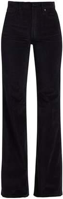 Joe's Jeans Molly High-Rise Flare Velvet Jeans