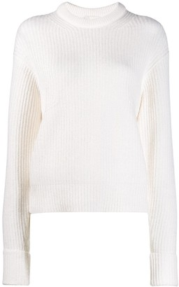 Chloé Ribbed Crew Neck Sweater
