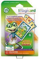 Leapfrog LeapPad Letter Factory Adventures Imagicard