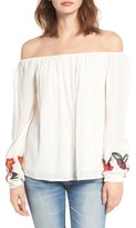 Lovers + Friends Women's Over The Sea Off The Shoulder Blouse