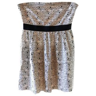 Theory White Silk Dresses