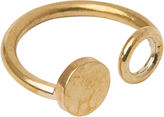 Whistles Made Disc And Circle Ring