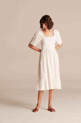 Rebecca Taylor La Vie Smocked Gauze Dress