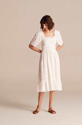 Rebecca Taylor La Vie Smocked Gauze Dress