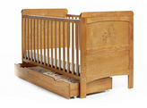 Disney Winnie the Pooh Deluxe Cot Bed & Under Drawer