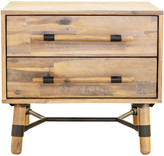 Moe's Home Collection Hudson 2 Drawer Nightstand