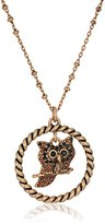 """Marc Jacobs Fall 2016"""" Owl Long Pendant Necklace, 36"""" + 2"""" Extender"""