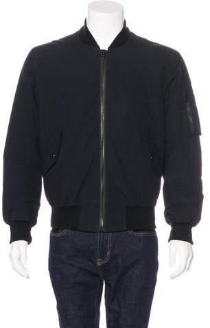 Givenchy 2016 MA-1 Crepe Bomber Jacket