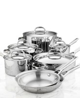 Anolon Tri-Ply Stainless Steel 12 Piece Cookware Set