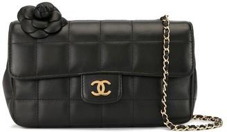 Chanel Pre Owned Chocolate Bar Quilt Shoulder Bag