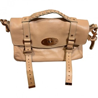 Mulberry Alexa Pink Leather Handbags