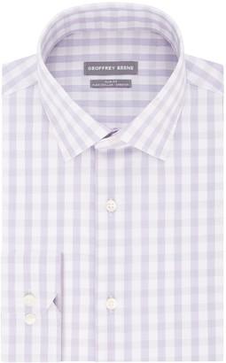 Geoffrey Beene Men's Regular-Fit Stretch Flex Spread-Collar Dress Shirt