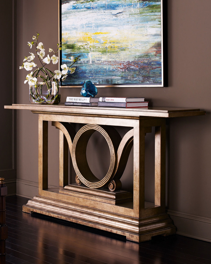 John-Richard Collection Collection Golden Orbital Console
