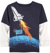 Andy & Evan Space Bandits Graphic T-Shirt, Size 2-7
