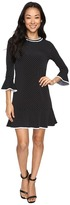 MICHAEL Michael Kors Tiny Dot Flounce Dress