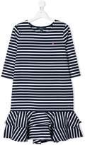 Ralph Lauren Kids TEEN striped jersey dress