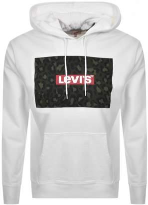 Levi's Levis Graphic Logo Hoodie White