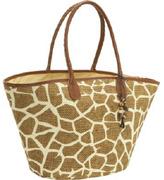 Capelli of New York Printed toyo handbag