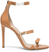 Tamara Mellon Leather Frontline Heels
