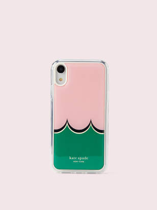 Kate Spade scallop hands-free iphone xr case