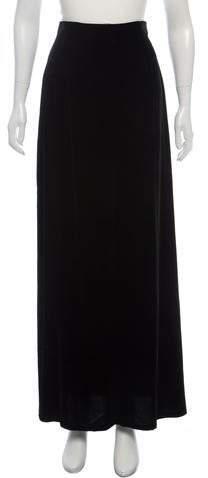 148 Velvet Maxi Skirt