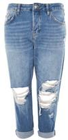"Topshop PETITE 28"" MDT Ripped Hayden Jeans"