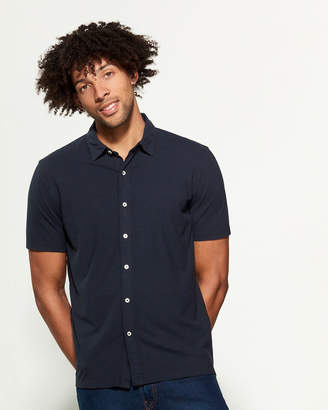 Altea Button-Up Short Sleeve Polo