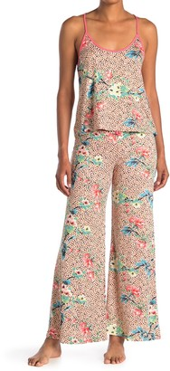 Jonquil Floral Print Cami & Pants 2-Piece Set