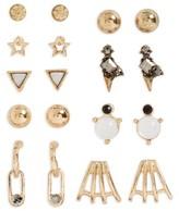 BP Women's 9-Pack Stud Earrings