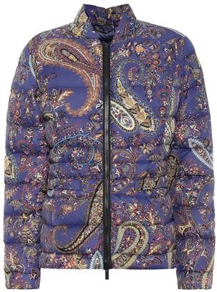 Etro Paisley down jacket